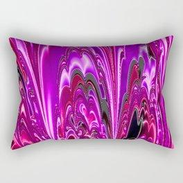 Electric Fraktal 1B Rectangular Pillow