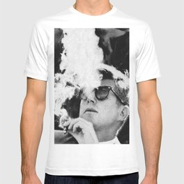JFK Cigar and Sunglasses Cool President Photo Photo paper poster T-shirt