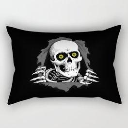 Skeleton Gash Rectangular Pillow