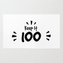 Keep It 100 Smol Bean Design Rug