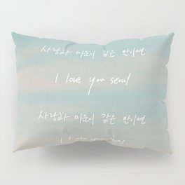 Seoul - RM Mono Pillow Sham