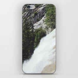 yosemite waterfall iPhone Skin