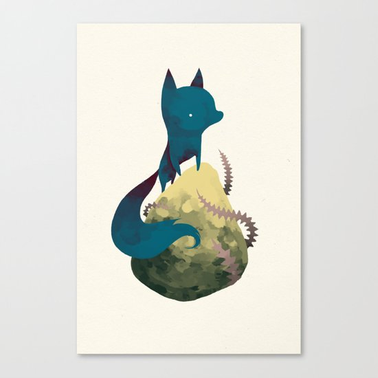 blacko Canvas Print