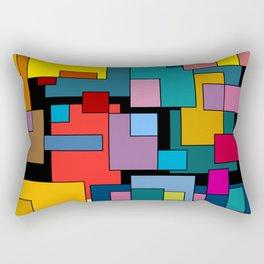 Color Blocks #4A Rectangular Pillow