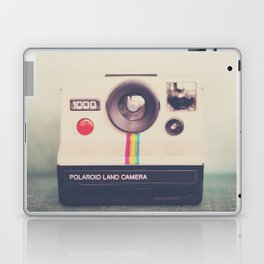 a portrait of a vintage camera Laptop & iPad Skin