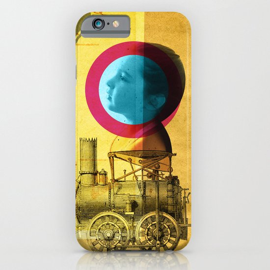 A childhood journey between reality and imagination... iPhone & iPod Case
