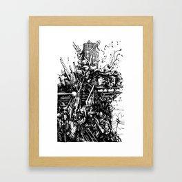 martha's junkyard Framed Art Print
