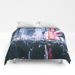 NYC Neon Winter Comforters