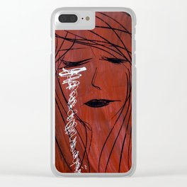 The Awakening by Kat Brandao Clear iPhone Case