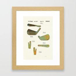 Golf Club Heads - 1989 Framed Art Print