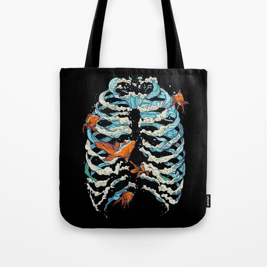 FISH BONE Tote Bag