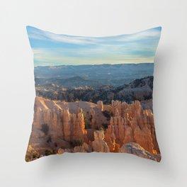 Fairyland Morning Throw Pillow