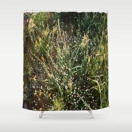"""El Grass"" Shower Curtain"