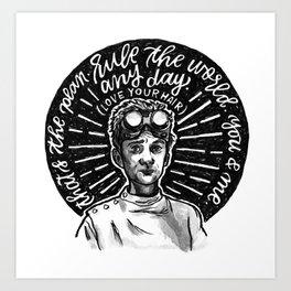 PhD In Horribleness Art Print