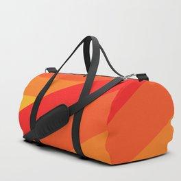 Turning Corners - Orange Yellow Hues Duffle Bag