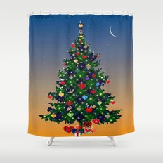 Make A Holiday Wish Shower Curtain