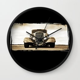 1933 Ford Coupe Wall Clock