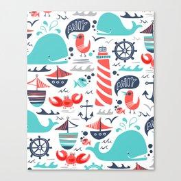 Ahoy Matey Canvas Print