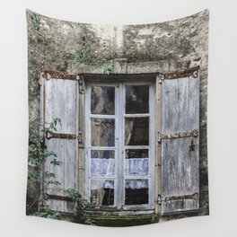 Old Window Wall Tapestry