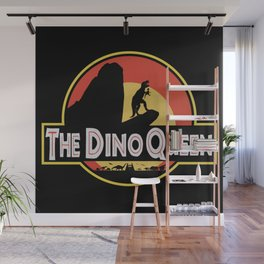 The Dino Queen Wall Mural