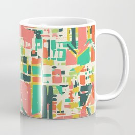 Plain geometric abstract wall art Coffee Mug