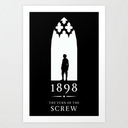 A Century of Horror Classics :: Turn of the Screw Art Print