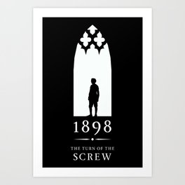 A Century of Horror Classics :: Turn of the Screw Art Print