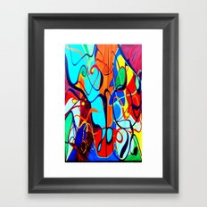 Confrontation II Framed Art Print
