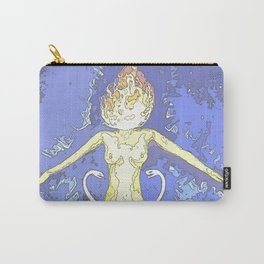 Woman Aflame Carry-All Pouch