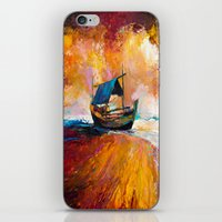 boat iPhone & iPod Skins featuring Boat by BOYAN DIMITROV
