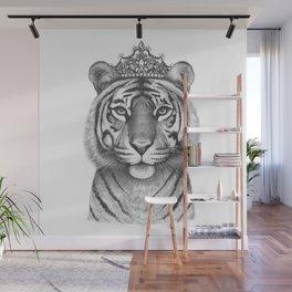 The Tigress Queen Wall Mural