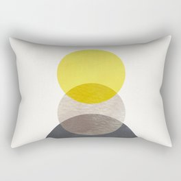 SUN MOON EARTH Rectangular Pillow