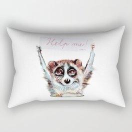 Loris need help Rectangular Pillow