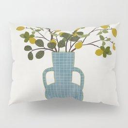 Vase with Lemon Branches Pillow Sham