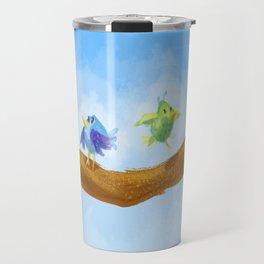 Little Spring Birds Travel Mug