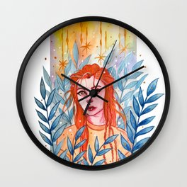 Lost In The Woods Wall Clock