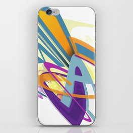 Graff abstract iPhone Skin