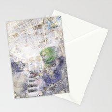 GREEN PIANOFORTE Stationery Cards