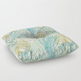 Flowing sea 2 Floor Pillow