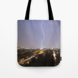 City Lightning. Tote Bag