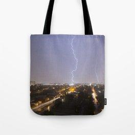 City Lightning. Tote Bag