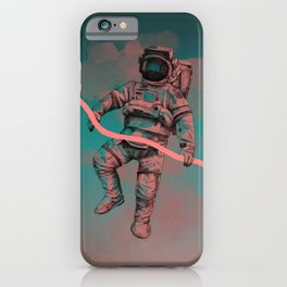 Fallen Astronaut iPhone Case