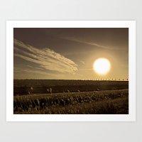 texas Art Prints featuring Texas  by Susan Gonzalez