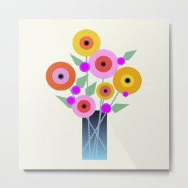 Floral Potpourri Metal Print