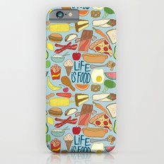 LIFE IS FOOD iPhone 6s Slim Case