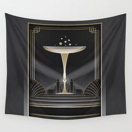 Art deco design VI Wall Tapestry