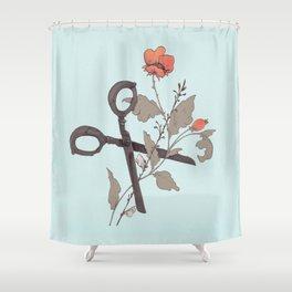 Cut Down Shower Curtain