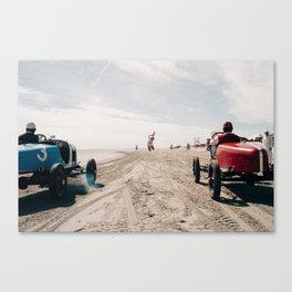 The Race of Gentlemen 9 Canvas Print