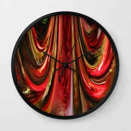 Swathes Wall Clock