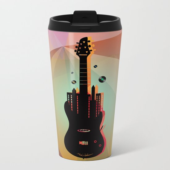 music  Metal Travel Mug